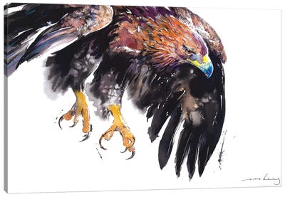 On Eagle Wing II Canvas Art Print