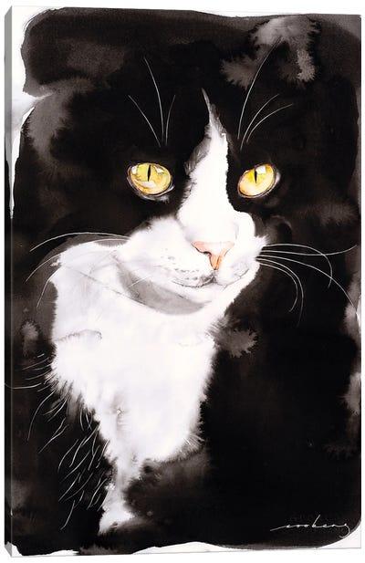 Portrait Of Me..Ow Canvas Art Print