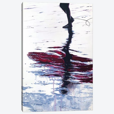 Steps Of Reflection Canvas Print #LIM215} by Soo Beng Lim Canvas Wall Art