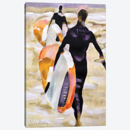 Surfers Haven Canvas Print #LIM217} by Soo Beng Lim Canvas Artwork