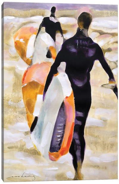 Surfers Haven Canvas Art Print