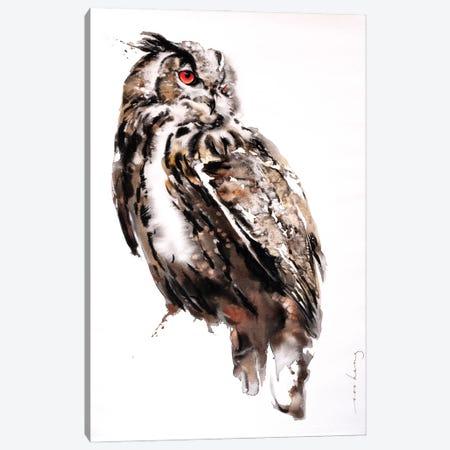 Wisdom Canvas Print #LIM219} by Soo Beng Lim Art Print