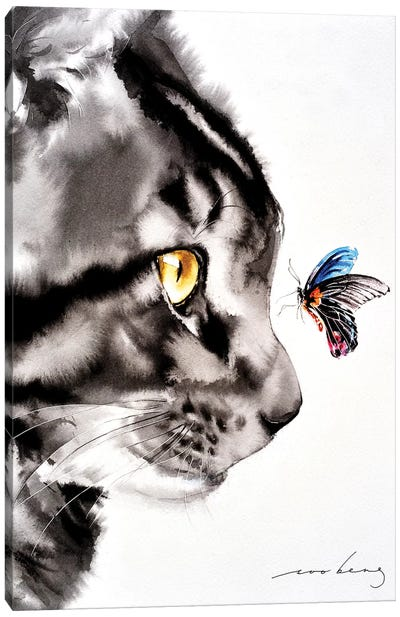Close Encounter I Canvas Art Print
