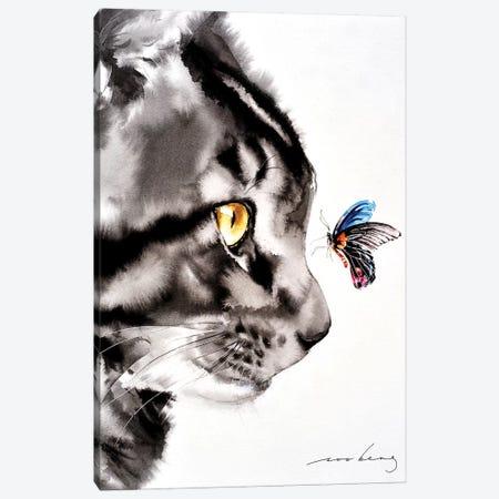 Close Encounter I Canvas Print #LIM21} by Soo Beng Lim Canvas Art Print