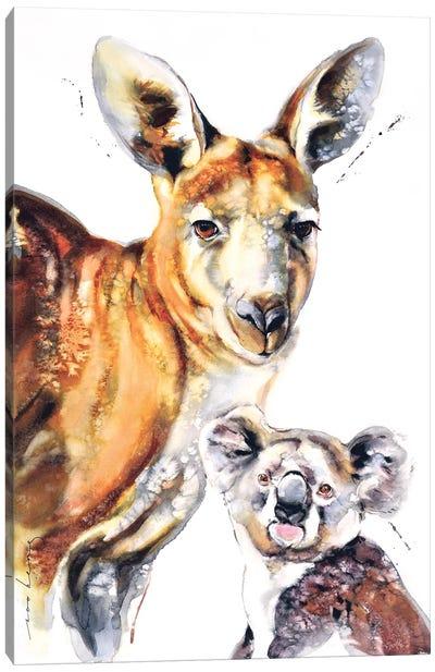 Aussie Mates II Canvas Art Print