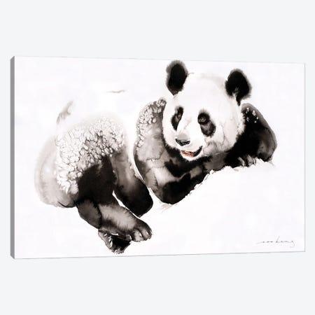 Cosy Panda III Canvas Print #LIM222} by Soo Beng Lim Canvas Art