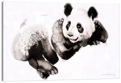 Cosy Panda III Canvas Art Print