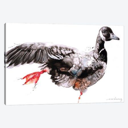 Geese Dance II Canvas Print #LIM226} by Soo Beng Lim Art Print