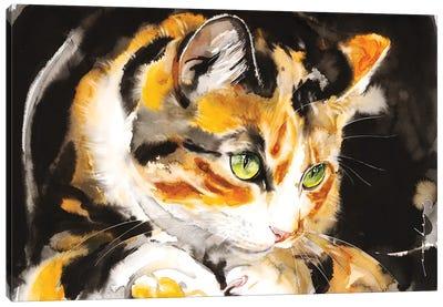 Kitty Honey Canvas Art Print