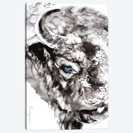 Niu V Canvas Print #LIM232} by Soo Beng Lim Art Print