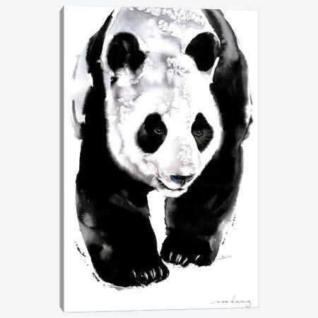 Panda Trail Canvas Print #LIM241} by Soo Beng Lim Canvas Art