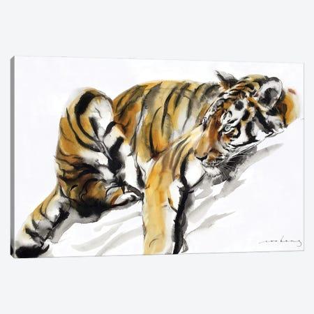 A Tiger's Rest Canvas Print #LIM247} by Soo Beng Lim Canvas Art Print