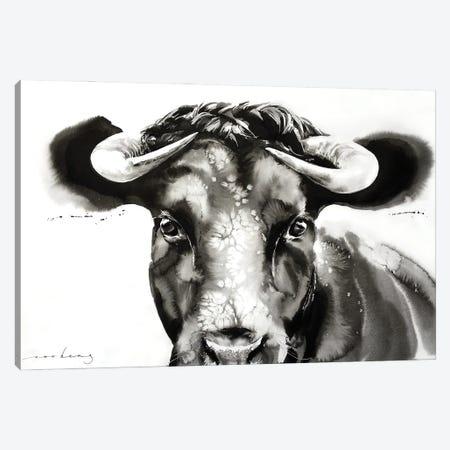 Bullish Endearment Canvas Print #LIM249} by Soo Beng Lim Canvas Art