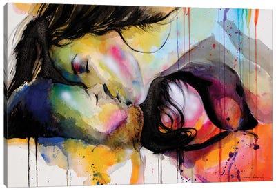 Colour embrace II Canvas Art Print