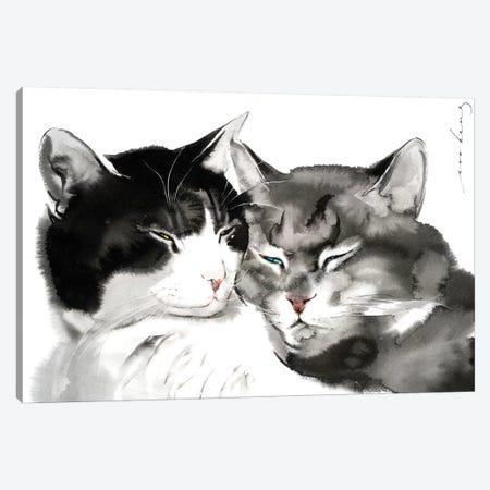 Comfort of Love Canvas Print #LIM28} by Soo Beng Lim Canvas Art Print
