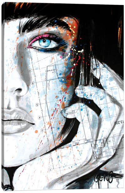 Contemporary Woman IV Canvas Art Print