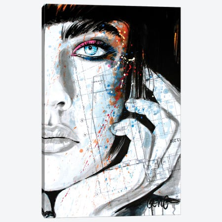 Contemporary Woman IV Canvas Print #LIM32} by Soo Beng Lim Canvas Art