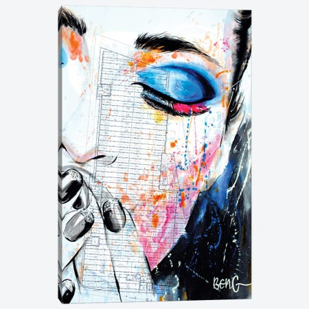 Contemporary Woman VII Canvas Print #LIM35} by Soo Beng Lim Canvas Art Print
