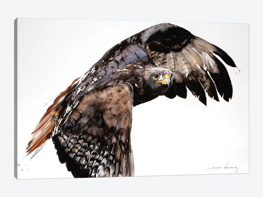 Falcon by Soo Beng Lim 1-piece Canvas Print