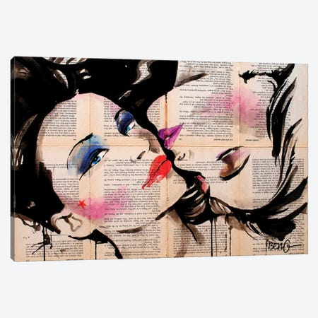 Belle Femme Canvas Print #LIM4} by Soo Beng Lim Canvas Art
