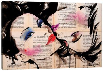 Belle Femme Canvas Art Print