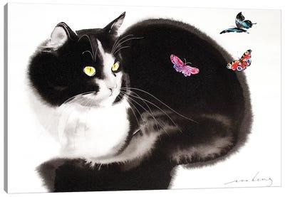 Fluttering Beauties III Canvas Art Print