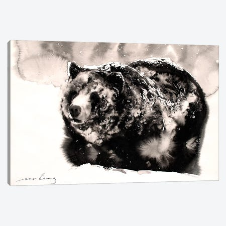 Frosty Shower Canvas Print #LIM53} by Soo Beng Lim Canvas Art