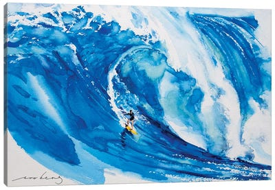 Big Wave II Canvas Art Print