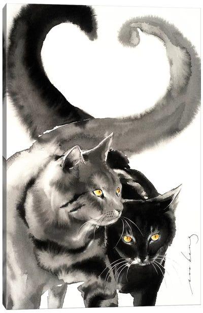Heart Tails Canvas Art Print