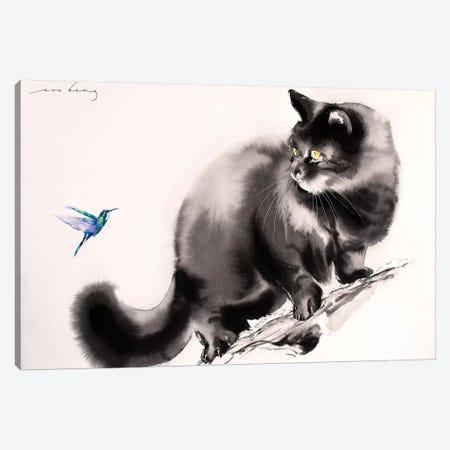 Hummm.. I Canvas Print #LIM66} by Soo Beng Lim Canvas Art
