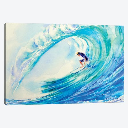 Perfect Surf Canvas Print #LIM82} by Soo Beng Lim Canvas Art Print