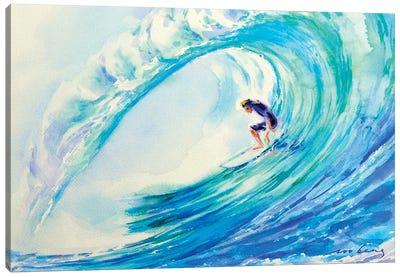 Perfect Surf Canvas Art Print