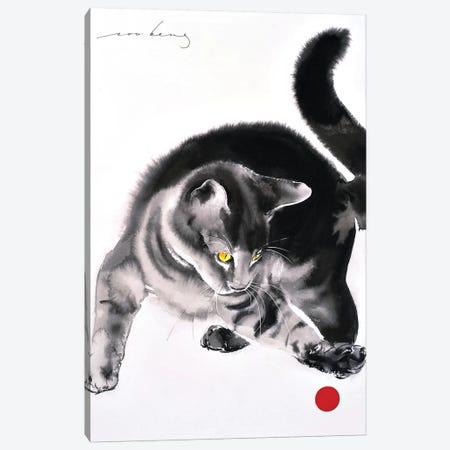 Red Ball II Canvas Print #LIM85} by Soo Beng Lim Canvas Wall Art