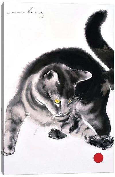 Red Ball II Canvas Art Print