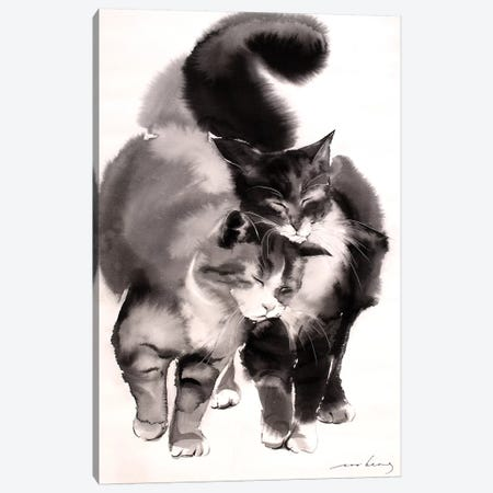 Soulmates Canvas Print #LIM93} by Soo Beng Lim Canvas Artwork