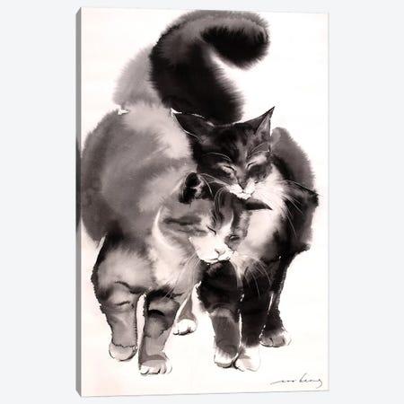 Soulmates Canvas Print #LIM93} by Soo Beng Lim Canvas Artwork