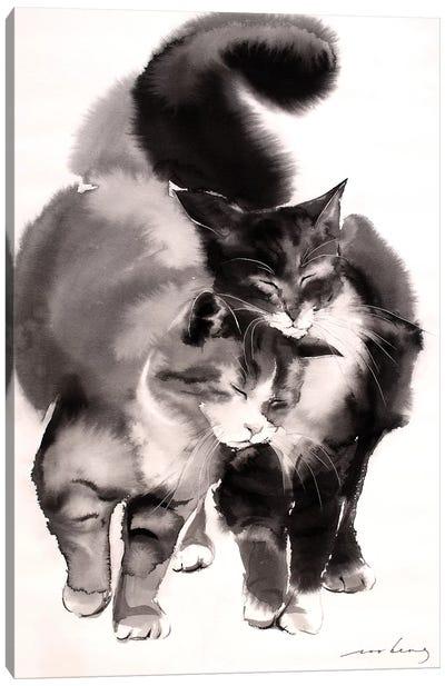 Soulmates Canvas Art Print