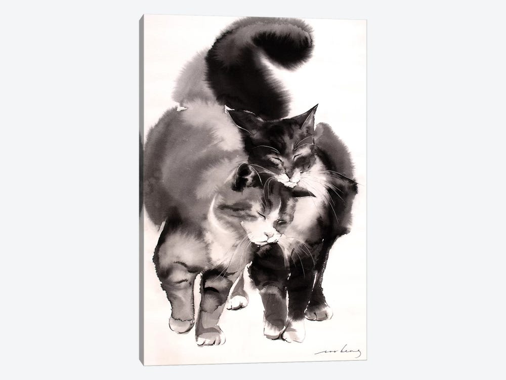 Soulmates by Soo Beng Lim 1-piece Canvas Wall Art