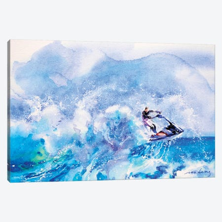 Summer Craze Canvas Print #LIM98} by Soo Beng Lim Canvas Wall Art
