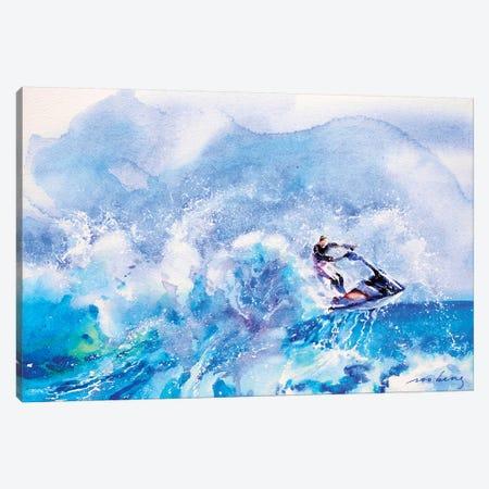 Summer Craze Canvas Print #LIM98} by Soo Beng Lim Canvas Wall Art