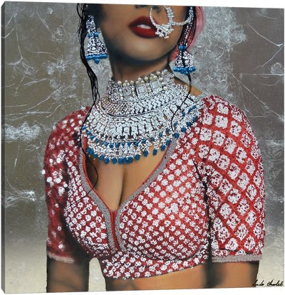 Indian Couture II Canvas Art Print