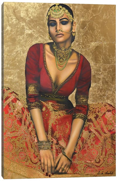 Sone Ka Mahal (Palace of Gold) Canvas Art Print