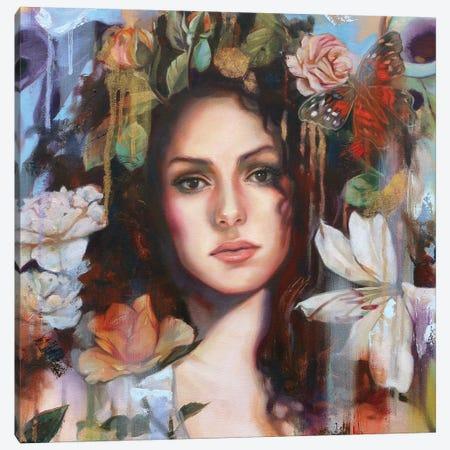 Cover Original Canvas Print #LIO11} by Lioba Brückner Canvas Wall Art