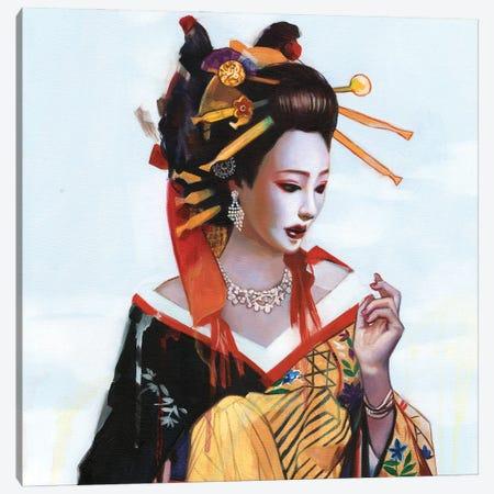 Fukai Aijō Canvas Print #LIO19} by Lioba Brückner Canvas Artwork