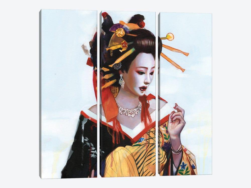 Fukai Aijō by Lioba Brückner 3-piece Art Print
