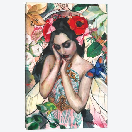 Ilryana Canvas Print #LIO24} by Lioba Brückner Canvas Artwork