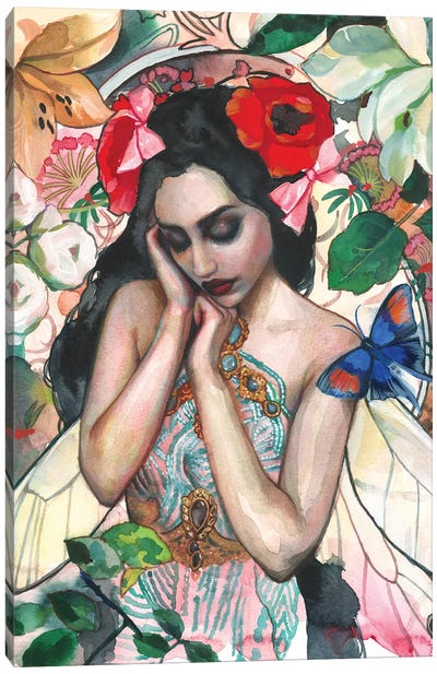Ilryana Canvas Art Print