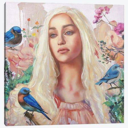 Khaleesi Canvas Print #LIO25} by Lioba Brückner Canvas Wall Art