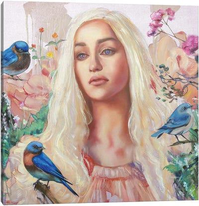 Khaleesi Canvas Art Print