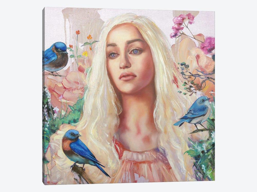 Khaleesi by Lioba Brückner 1-piece Canvas Wall Art